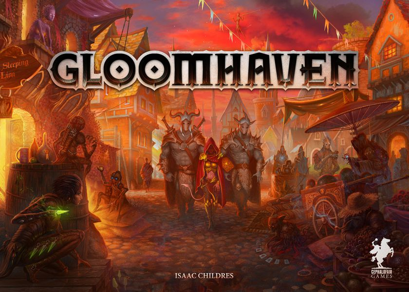 Gloomhaven Adventure Board Game