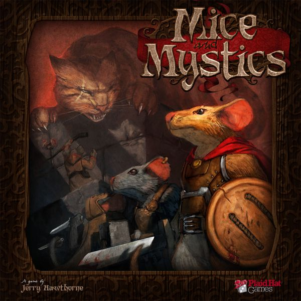 Mice and Mystics Adventure Board Game