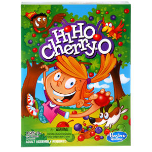 Hi Ho Cherry-O by Hasbro – For Families with Young Children