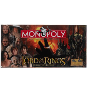 Monopoly The Lord of the Rings Collectors Edition