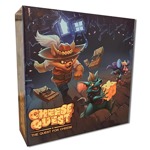 Cheese Quest Board Game