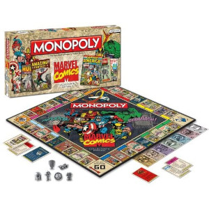 marvel comics collector monopoly
